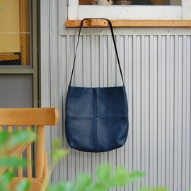 "SUNSEA - 1LDK 6th Anniversary ""LIGHTS BOOK STORE BAG"" NAVY"