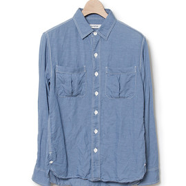 nonnative - WORKER SHIRT - T/L TWILL