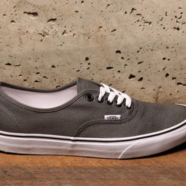 VANS - vans Authentic - Pewter