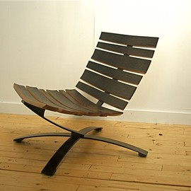 uhuru design - BILGE LOUNGE CHAIR