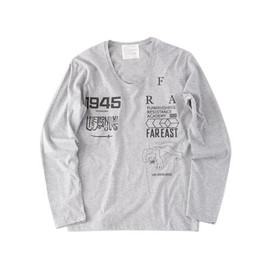 LIBE BRAND UNIVS. - FRA U-NECK LONG SLEEVE (Grey)