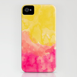 Society6 - Swimming In Flowers iPhone Case