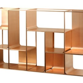 "Ferruccio Laviani for KME - ""Copper Shelve"""