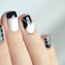 nails - Nail art inspiration Alexander Wang