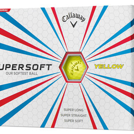 Callaway - Callaway SuperSoft  Yellow Golf Ball