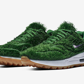 NIKE, Nike Golf - Air Max 1 Golf - Grass/Grass/White