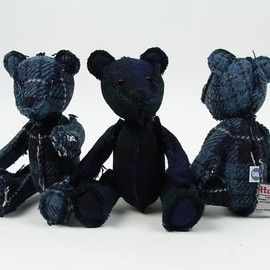GOODENOUGH - GOODENOUGH×Harris Tweed Teddy bear