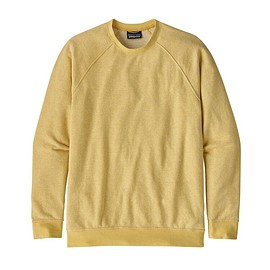 patagonia - M's Trail Harbor Crewneck Sweatshirt, Long Plains: Surfboard Yellow/Resin Yellow (LPSR)