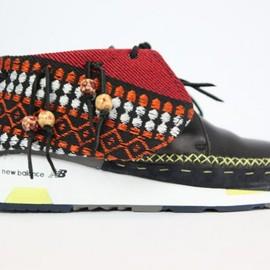New Balance, visvim - Nash Money x Sole DXB Bedouin New Balance x visvim Mash Up Design