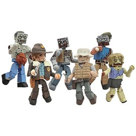Diamond Select - Walking Dead Minimates Series 1 Mini-Figure 2-Pack Case