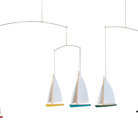 Flensted Mobiles - 5 Dinghy Regatta
