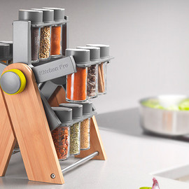 Kitchen Pro - Ferris Spice Rack Deluxe
