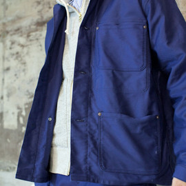 Ordinary fits - Ordinary fits FRENCH WORK JACKET | オーディナリーフィッツ フレンチワークジャケット