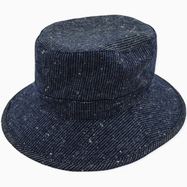 wisdom - Woolen Fisherman Hat(NAVY)