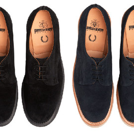 GEORGE COX × FRED PERRY - creeper shoes