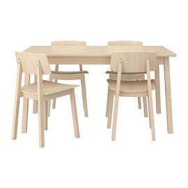 IKEA - TRANETORP/SIGURD table and 4 chairs