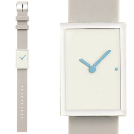 &design - LED Rubber Watch (White)