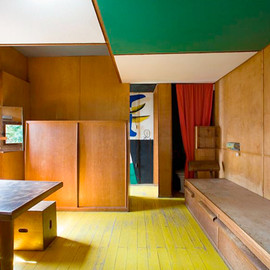 Le Corbusier - Cabanon (super small house), Sout of France