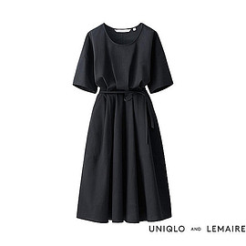 UNIQLO and LEMAIRE - WOMEN シアサッカーワンピース(半袖)