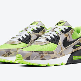 NIKE - Air Max 90 SP - Ghost Green/Black/Duck Camo