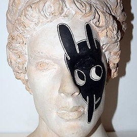 Ray Johnson - Bunny Head Bust