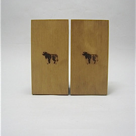 COW BOOKS - Bookends Toll