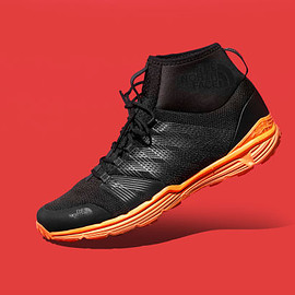THE NORTH FACE, Publish Brand - Litewave Ampere II HC - Black/Orange