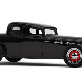 Artur Borovik - Hogster  1932 Buick Coupe 5 Window