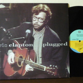 Eric Clapton - Unplugged (1992 LP Record: Reprise 9362-45024-1 Ger.oirg)
