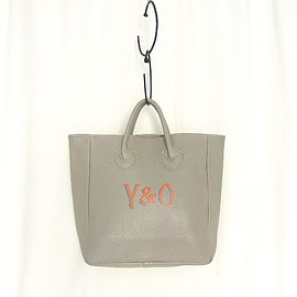 YOUNG & OLSEN The DRYGOODS STORE - YOUNG & OLSEN The DRYGOODS STORE | PAINTER'S LEATHER TOTE(BEIGE)