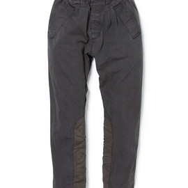 nonnative - PEDALER EASY PANTS - COTTON WEATHER CLOTH