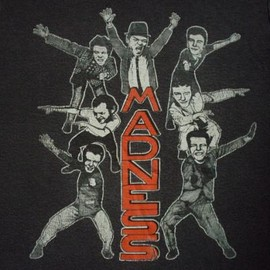 T-SHIRT - VINTAGE 70'S THE MADNESS T-SHIRT