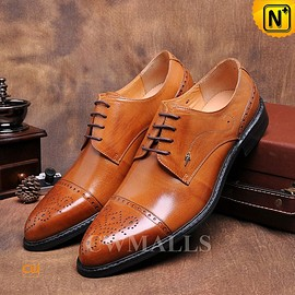 CWMALLS - CWMALLS® Mens Leather Brogues Shoes CW716015