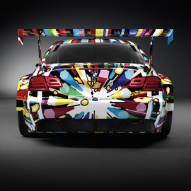 Jeff Koons - BMW art