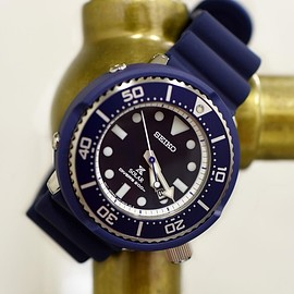 SEIKO - Prospex Diver Scuba Limited Edition SHIPS Exclusive NAVY Model