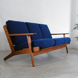 getama - GE290 3-p sofa in Teak