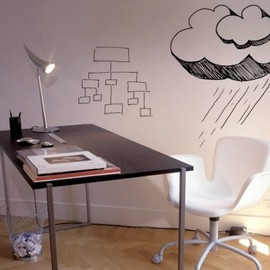 Idea Paint - Whiteboard Wall