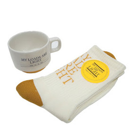 MY LOADS ARE LIGHT - SUPPLY SOX&MUG GIFT SET