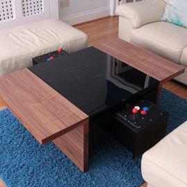 surface tension - dual arcade coffee table