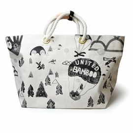 united bamboo - PRINT CANVAS TOTE BAG