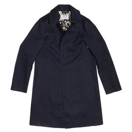 Mackintosh - Epaulet x Mackintosh Dowanhill Raincoat Navy