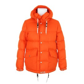 Moncler - Orange Goose Down jaquet
