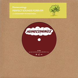 Homecomings - PERFECT SOUNDS FOREVER (7inch)