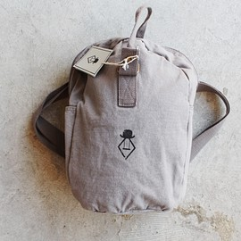 the animals observatory - TAO gray big backpack