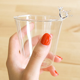 Glass Holder Bird