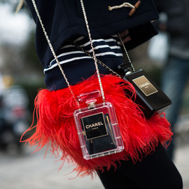 CHANEL - Russian girl with two Chanel bags