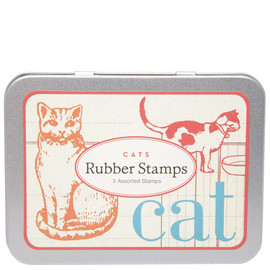 Liberty London - CATS RUBBER STAMP SET