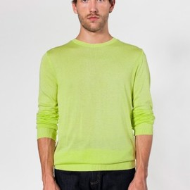 American Apparel - Unisex Knit Sweater Crew Neck