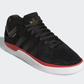 adidas Skateboarding, adidas - Tyshawn - Core Black/Scarlet/Metallic Gold
