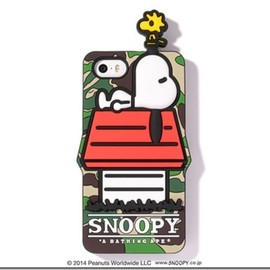 A BATHING APE - CANDIES PEANUTS IPhone 5/5S CASE